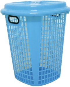 Plastic-Laundry-Basket-With-Lid